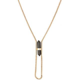 Voylla Stylish Neck-Piece Adorned With Gold Toned
