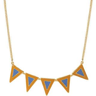 Voylla gold-tone beautifully enameled necklace