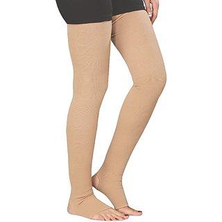 Kudize Varicose Vein instocking Compression Premium Thigh Length (XXXL)