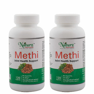 Naturz Ayurveda Methi 120 capsules - Pack of 2