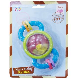 Toys Factory Designer Baby Teether Rattle(set of 2)