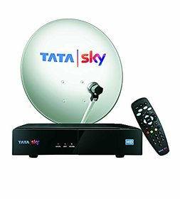 Tata Sky HD Connection With One Month Hindi Basic Pack