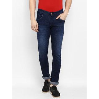 a3bc981d3 Buy Routeen Men s Dark Blue 100% Cotton Spandex Denim Jeans Online - Get 67%  Off