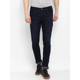 6a812e74e Buy Routeen Men s Indigo Blue 100% Cotton Spandex Denim Jeans Online - Get  67% Off