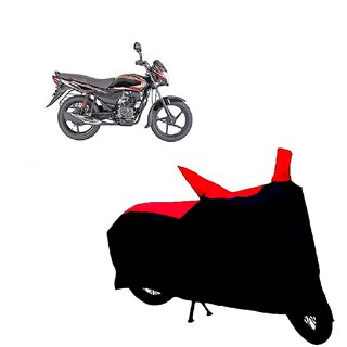 ABP Premium Red with Black-Matty Bike Body Cover For Bajaj Platina