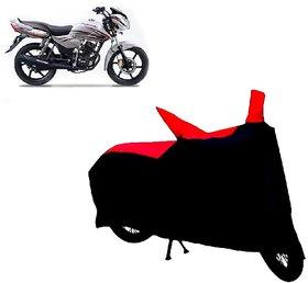 ABP Premium Red with Black-Matty Bike Body Cover For TVS Phoenix