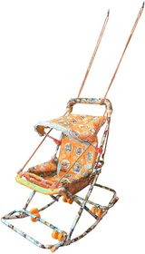 Oh Baby Walker With 6 In 1 Function Orange SE-W-28