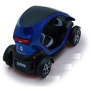 JGG Jain Gift Gallery Kinsmart Renault Twizy - 5 Die Cast Metal Pull Back Action Color May Vary