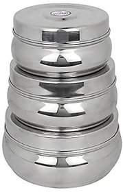 Royal Sapphire Stainless Steel Multi Purpose Storage Container