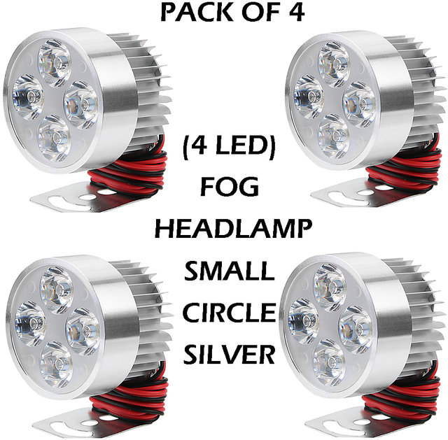 12b06b4e582 MOTORBIKE  CAR SPOT LIGHT LED FOG Headlamp 4 LED LIGHT 12-80V 960lm ...