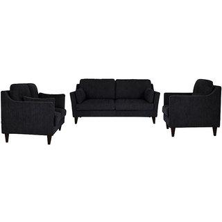 houzzcraft liliana sofa set (3+2+1) grey