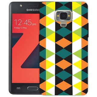 reputable site 8b5c0 b73f3 Ezellohub Green yellow Printed Soft Silicone Mobile Back Cover Case For  Samsung Z4