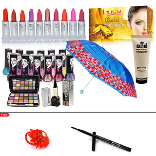 Style Diva - Salon Beauty Fashion Color Combo Makeup Set