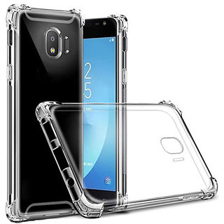 Imperium Silicon Shock Proof Transparent Bumper Case for Samsung Galaxy J4