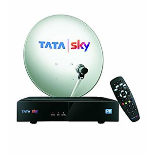 Tata Sky HD Box with One Month Family Kids Pack