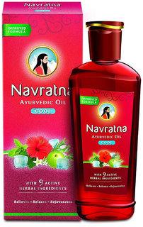 Navratna Ayurvedic Oil Cool 50ml