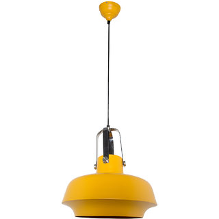 Fos Lighting Yellow Industrial Shipyard Pendant Light