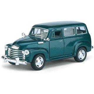 JGG Jain Gift Gallery Kinsmart 5 Diecast Metal 1950 Chevrolet Suburban Carryall Car, Pack of 1, Color May Vary