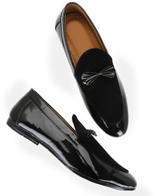 Men's Black Slip-on Party wear Loafer
