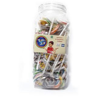Ethix Round Lollipop 10gm (80 Pieces In 1 Box)