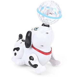 OH BABY, BABY Cute Dancing Dog Toy with Reflected 3D Lights  Wonderful Music for Kids FOR YOUR KIDS SE-ET-584