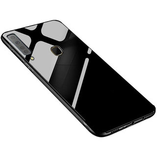 Imperium Toughened Glass Back Cover For Samsung Galaxy A9 2018 Edition(Quad Camera)