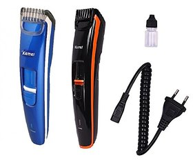 Kemei KM 2017 Beard Professional Rechargeable Hair Trimmer /Clipper/Shaver Assorted Color