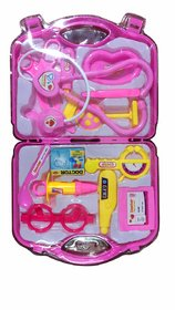 Jojoss  Kit Doctor Role Play Toy Set for Kids (Pink)