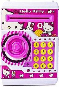 Jojoss Hello Kitty Mini Electronic Safe with Password and Light