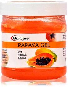 Biocare Papaya Face  Body Gel - With Papaya Extracts - 500 ML
