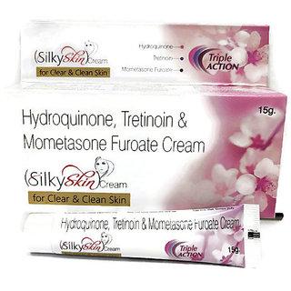 SilkySkin Fairness Cream For Clear Skin ( Pack of 1 pcs. )15 gm each