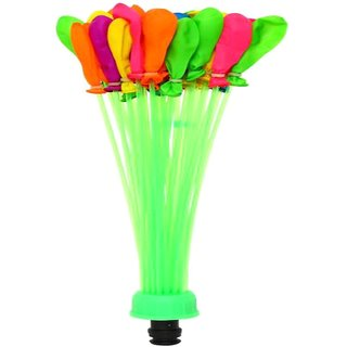 Balloons Fill and Tie 37 Water Balloons in 60 Seconds Self Sealing Water Balloons
