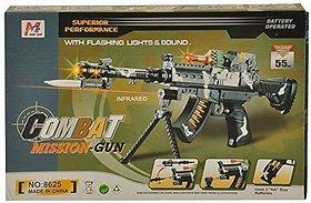 Jojoss Infrared  Gun with Flashing Lights  Sound for Kids