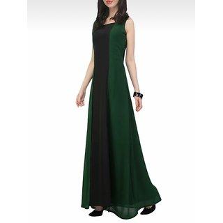 Rosella Teal Green Long Dress 11026