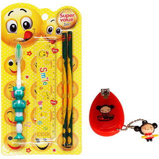 Toys Factory Baby toothbrush and nail cutter (set)
