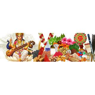 saraswati  delux puja kit all in one by priya retail india