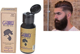 SPERO Gabru Beard Groth Moustache and Eucalyptus Hair Oil