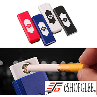ESHOPGLEE Flameless Cigarette Lighter USB Rechargeable FREE PLAYING CARDS