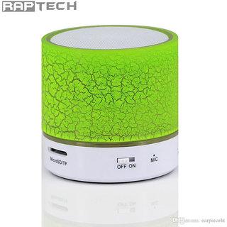 Raptech S10 Wireless Bluetooth Speaker (Multicolor)