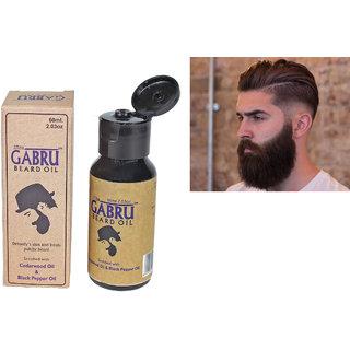 SPERO Gabru Beard Groth Moustache and Eucalyptus Hair Oil