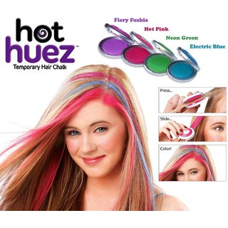 CPEX Hot Huez Temporary hair chalk with 4 colors