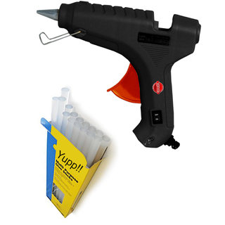 Deltech 40 Watt Hot Glue Gun With 2 Glue Sticks Free