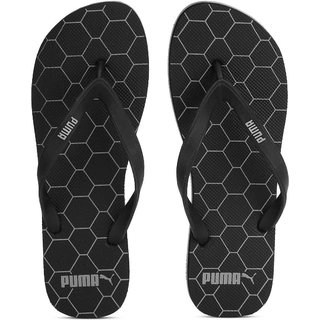 ed1ffd529e094b Buy Puma Men s Black Gray Block IDP Casual Flip Flops Online - Get 72% Off