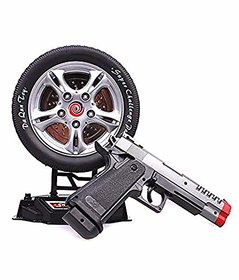Jojoss Sharp laser Gun  toys with Black color for Kids