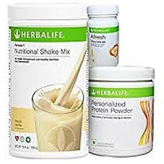 Herbal life Formula 1 Vanilla Protein Afresh Peach !
