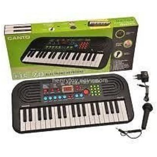 Jojoss  Electronic Keyboard Piano  with Black color