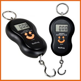 40 kg CAPACITY HANGING PORTABLE TRAVEL LUGGAGE DIGITAL SCALE40Kg Digital Hanging Luggage Fishing Weight Scale Kitchen Scale Weight Machine