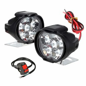 RA Accessories 6 LED Transformer Bike Fog Light (set of 2)