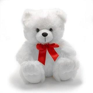 Tahiro White Soft Teddy Bear For Birthday Gift - Pack Of 1