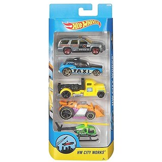 OH BABY, BABY Hot Wheels Track Aces 4 Car Pack FOR YOUR KIDS SE-ET-615